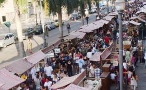 Feira Rio Antigo - do alto