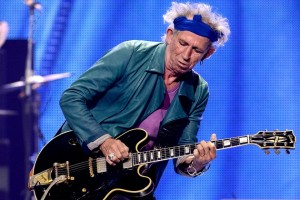 ANAHEIM, CA - MAY 15:  Musician Keith Richards of The Rolling Stones performs at The Honda Center on May 15, 2013 in Anaheim, California.  (Photo by Kevin Winter/Getty Images)