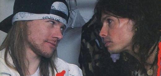 Steven Tyler e Axl Rose